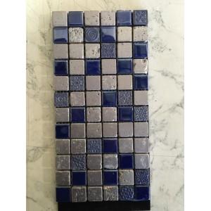 Mozaic Lacca Blue Argento